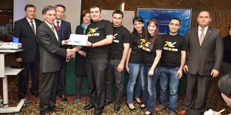 Winners Of Imagine Cup Armenia 2011