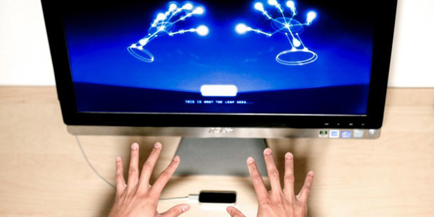 Leap Motion Development In Copmany X-TECH