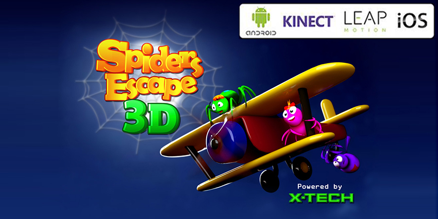 Cross Platform Game - Spider Escape 3D