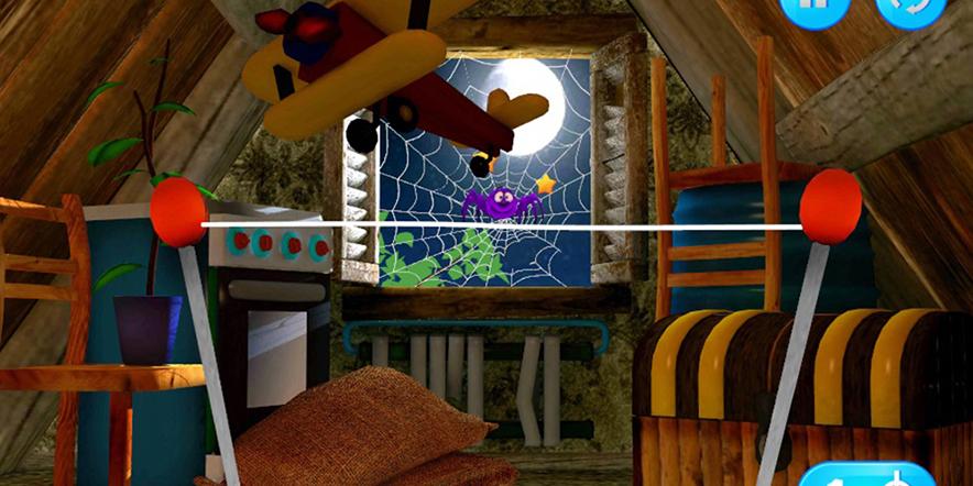 Spiders-Escape-3D-Level 7