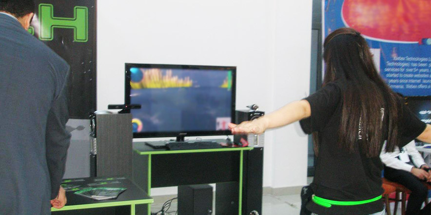 Performing Kinect App