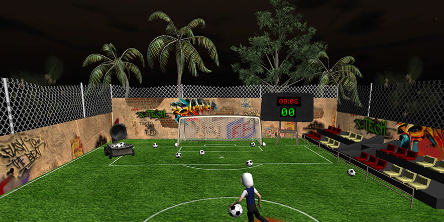 Kinect game football brasil 2014 screenshot 2