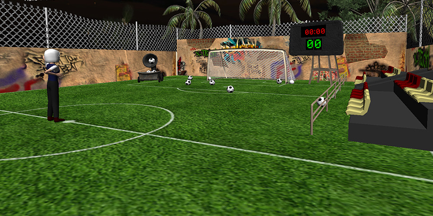 Kinect game football brasil 2014 screenshot 3