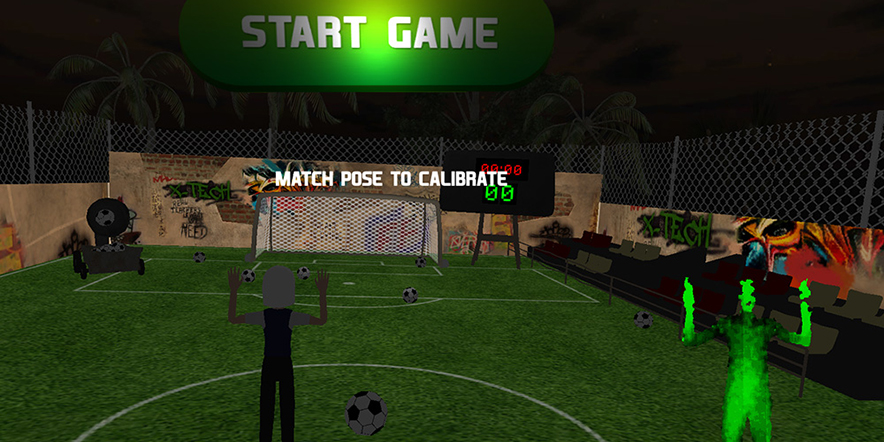 Kinect game football brasil 2014 screenshot 4