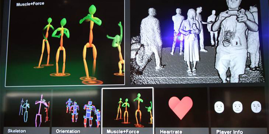 Microsoft Kinect sensor 2