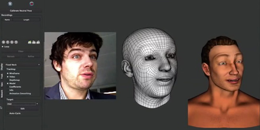 Kinect Faceshift - Kinect Recognizes Facial Mimics | X-TECH