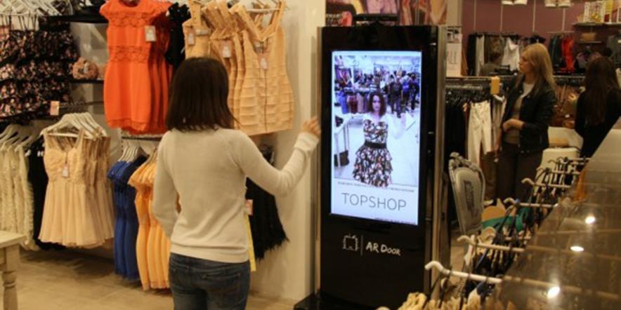 Kinect Virtual Dressing App