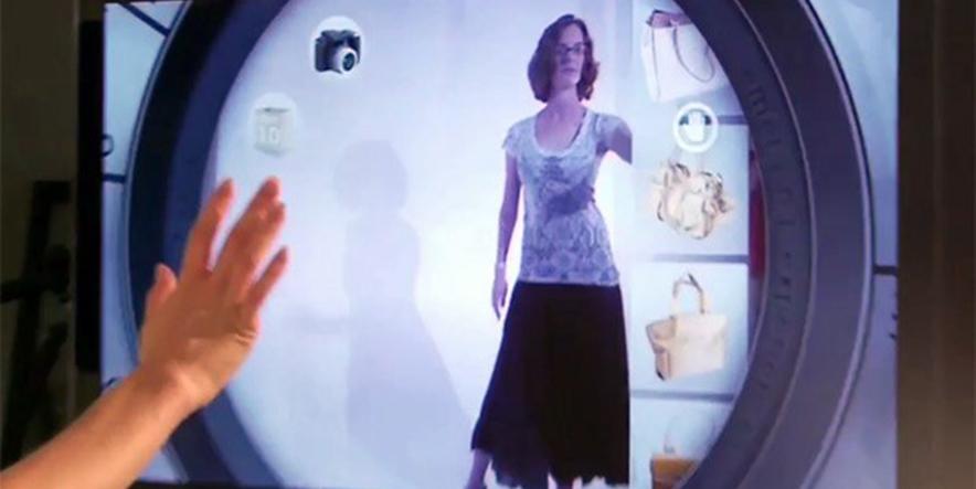 Kinect virtual dressing