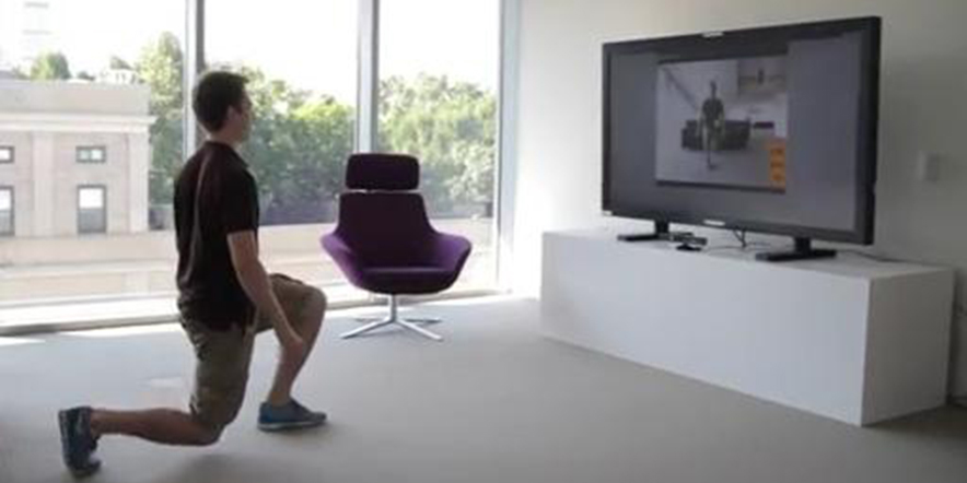 Kinect - body parts motion frequency