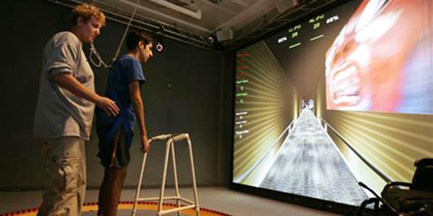 Kinect rehab games
