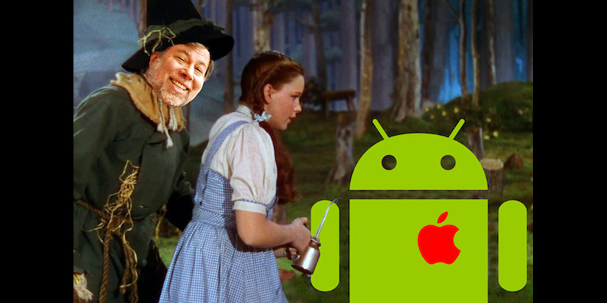 Apple Builds iAndroid