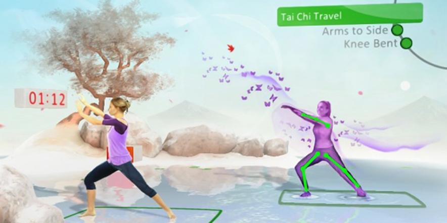 Kinect based Zumba