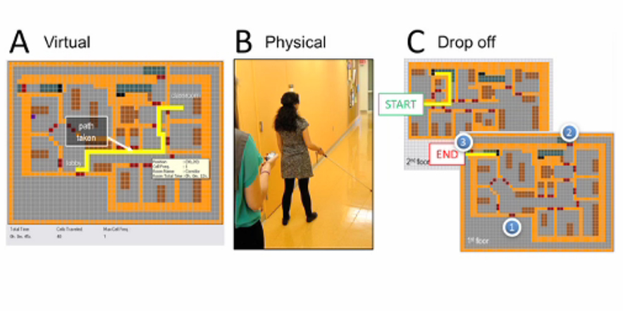 Kinect helps blind to navigate