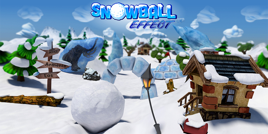 SnowBall Effect - Adroid Game