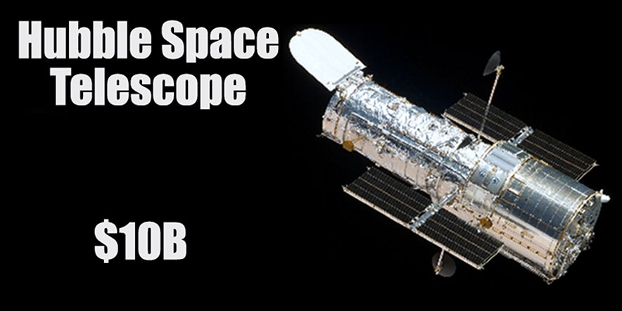 Hubble Space Telescope $10B