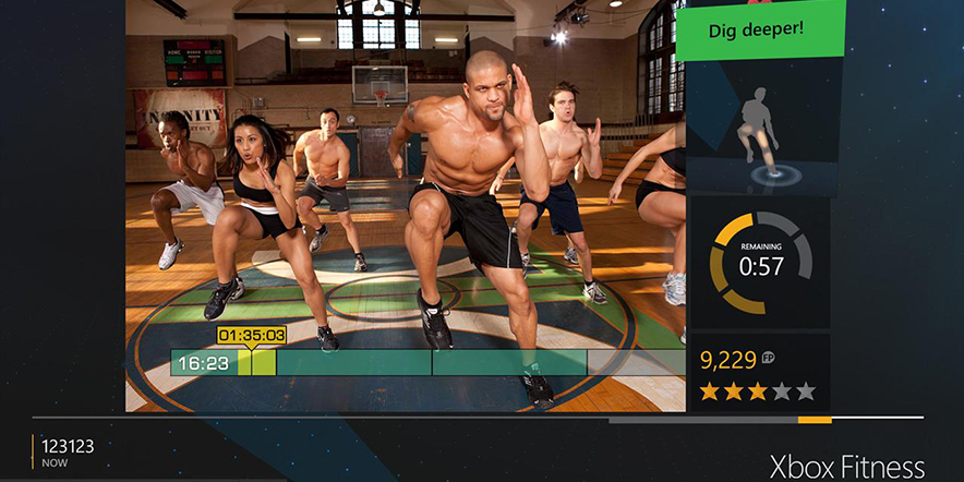 Kinect based fitness and Exergaming