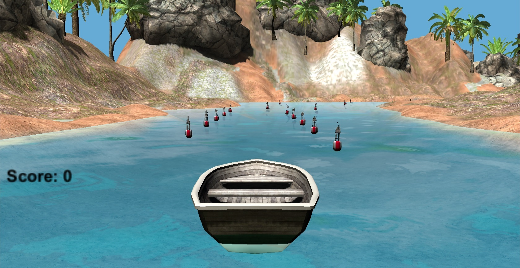 Kinect virtual therapy training game