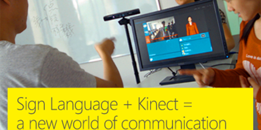 Sign language+Kinect=a new world of communication