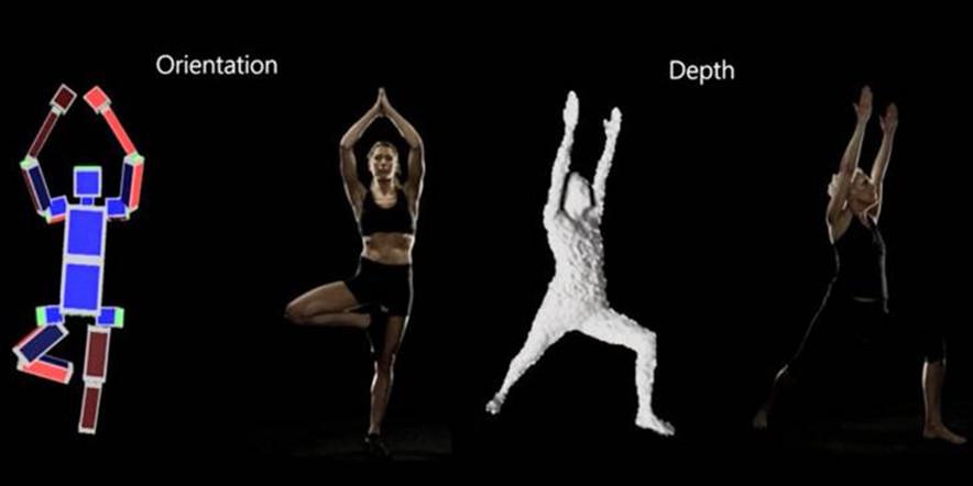 Kinect Eyes-Free Yoga