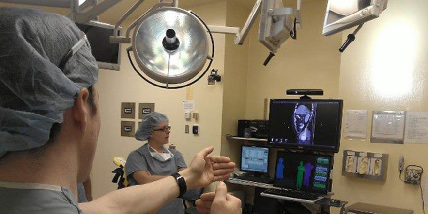 Kinect for surgery