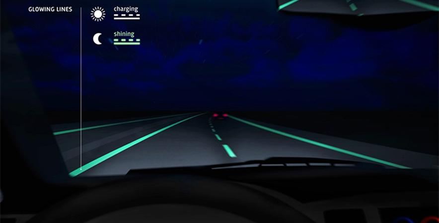 futuristic highways