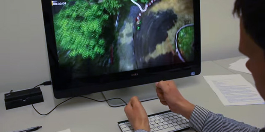 Microsoft's Air Gesture Controls – Type-Hover-Swipe Keyboard