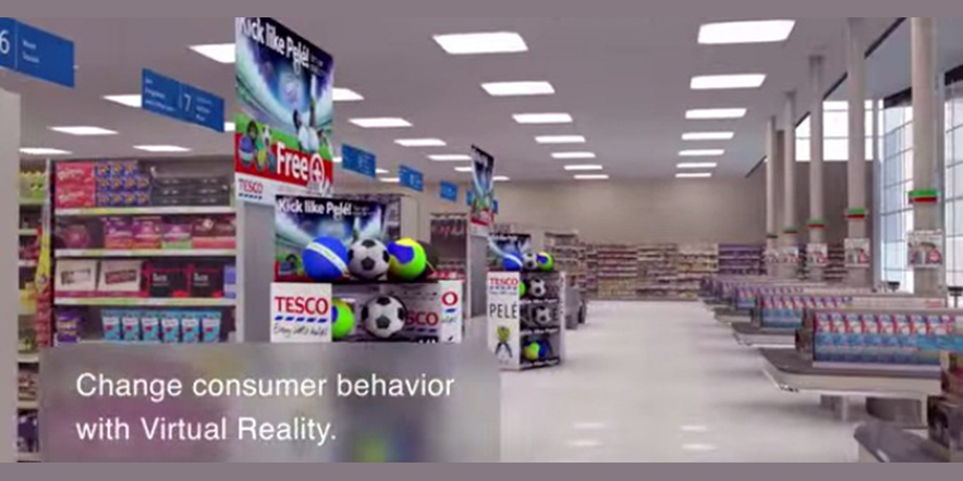 Oculus Tour Around the Tesco Store