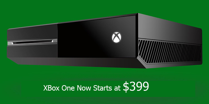 Microsoft Releases $399 Xbox One without Kinect