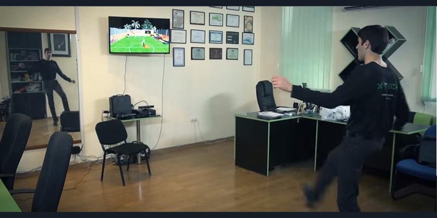 Kinect Football Game