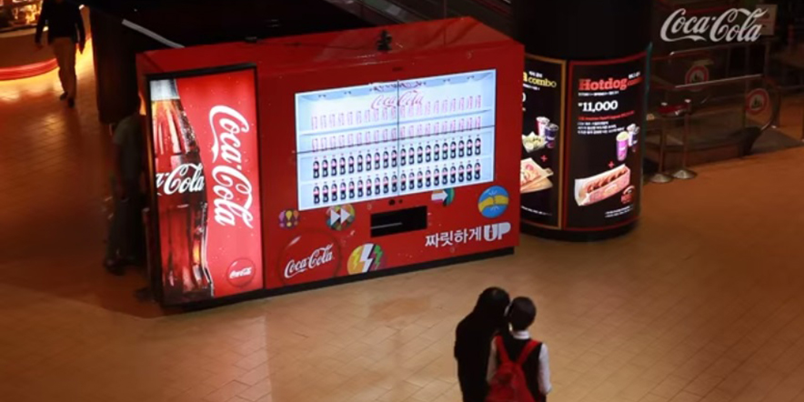 Coca-Cola giant employed Kinect technology