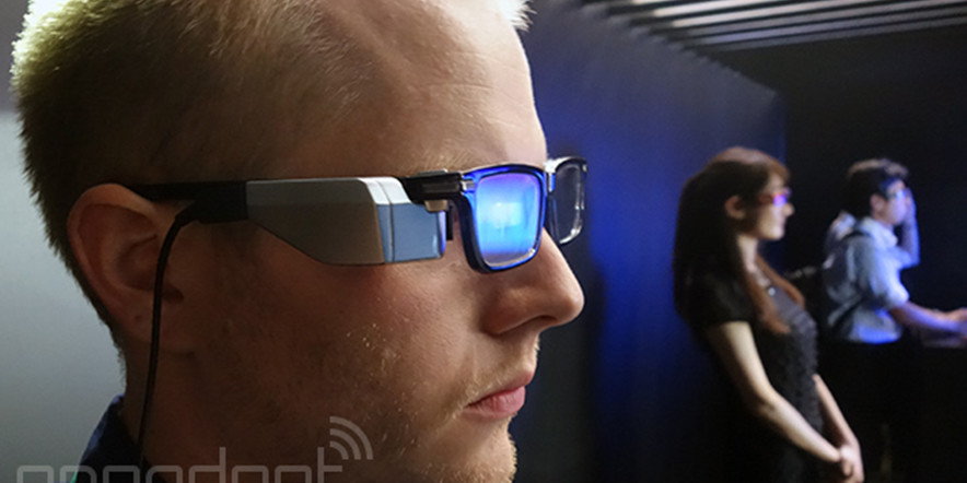 Toshiba Shows Off Its wearable Glass Prototype