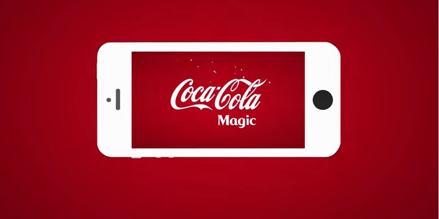 "Coca-Cola Just Launched an Augmented Reality ""Coca-Cola Magic"" App"