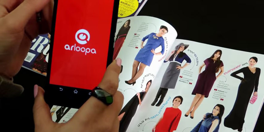 COSMO Armenia with Magical Pages – SCAN with ARLOOPA