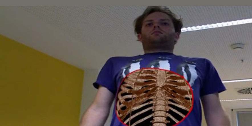Kinect for anatomy education