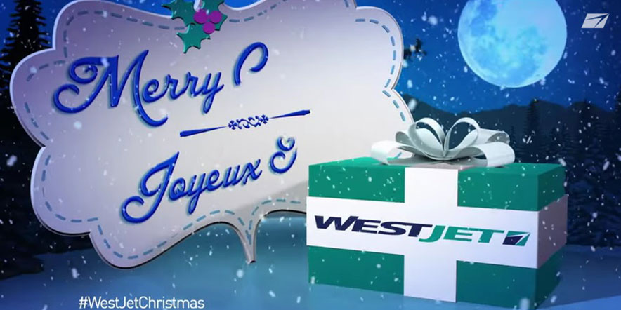WestJet - Christmas Marketing Tool