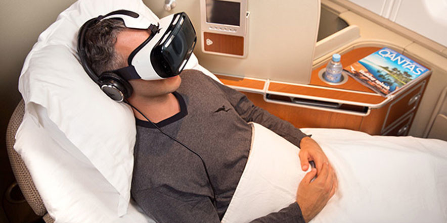 Samsung's Gear VR Has Become Quite an Entertainment System in Aircrafts