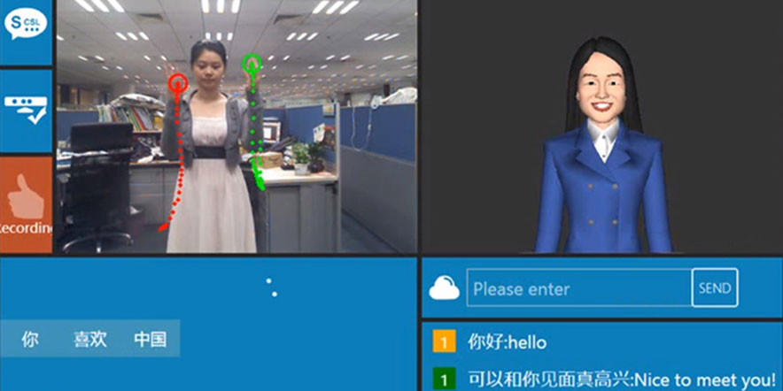 Kinect Translates Sign Language
