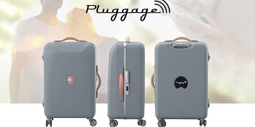 Delsey's Smart Luggage Concept