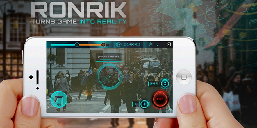 Experience Combat Gaming – RonRik AR App Turns Natural Environment into Battlefield
