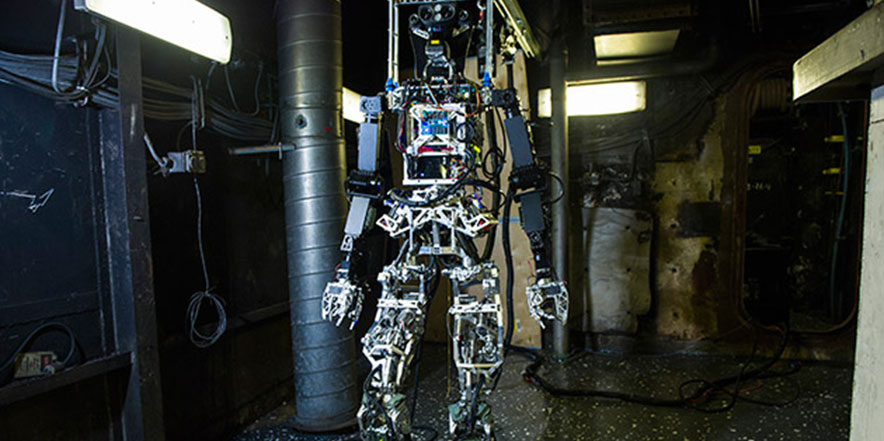 Navy's firefighting robot