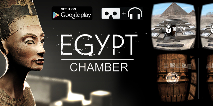Egypt Chamber – New VR game from Arloopa