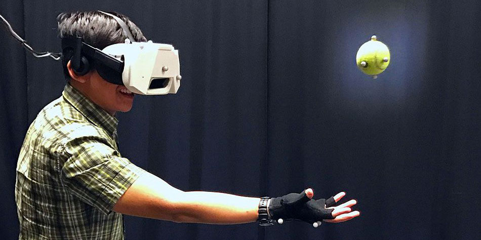 Disney experiment lets you catch real objects in virtual reality | X